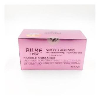 Ailke superior whitening day and night cream