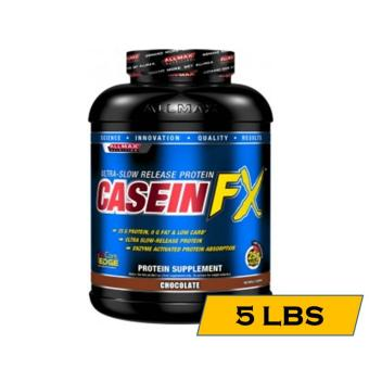 All Max Casein FX Ultra Slow-Digesting Muscle Building Protein Shake - 5lbs - Chocolate