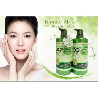 Aloe Vera 99% Hair Shampoo 800ml and Aloe Vera 99% Hair Conditioner 700ml (Set of 1)