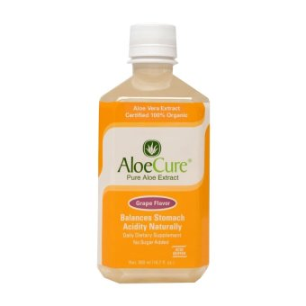 AloeCure Pure Aloe Extract Grape Flavor 500ml