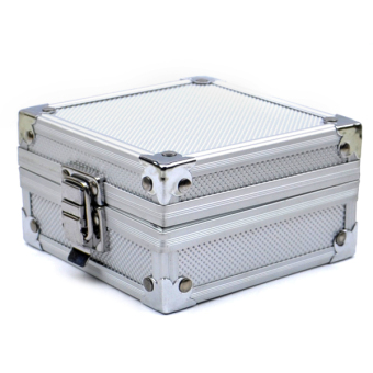 Aluminum Case Box with Clasp for Rotary or Coil Tattoo Machine Grip Tip