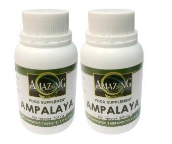 Amazing Food Supplement Amapalaya 500mg Capsules Bottle of 100 Setof 2
