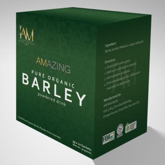 Amazing Organic Pure Barley Powdered Drink