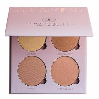 Anastasia Beverly Hills Glow Kit-That Glow 4 color (Gold)