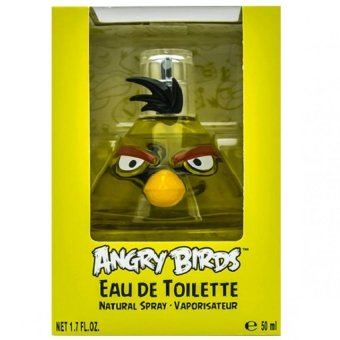Angry birds EDT Eau de Toilette for Kids 50mL (Yellow)