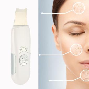 ANSELF Sonic Skin Cleaner Ultrasonic Face Pore Scrubber Facial Tighten Therapy Peeling Shovel Exfoliator Blackhead Removal Skin Care Massager EU Plug - 4