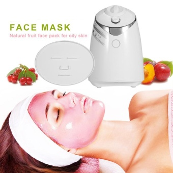 Anti-aging DIY Face Mask Machine Facial Beauty Natural Fruit FreshCollagen Maker EU Plug - intl Price Philippines