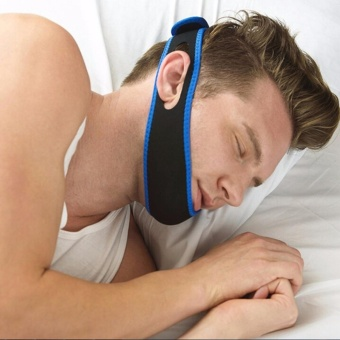 Anti Snore Aid Anti-Snore Device Jaw Brace Stop Snoring Solution Chin Support Strap, safe, comfortable, adjustable and reduces sleep stress BELT (Panguntra sa Hilik)
