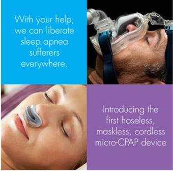 Anti Snoring Nasal Mask Auto CPAP Air Purifier BreathebleVentilator Nose Apparatus Nose Clip Sleeping Snoring Insomnia NoiseStopper Aid (Color Random) - intl - 2