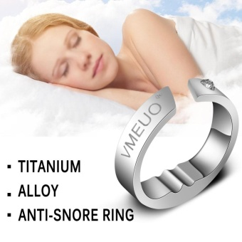 Anti Snoring Ring Stopper Sleeping Breath Aid Acupressure TreatmentStop Snore Device L - intl