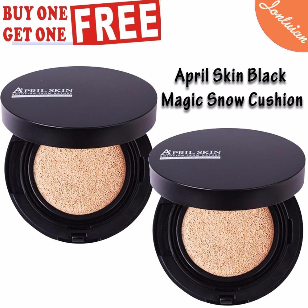 Philippines April Skin Black Edition Magic Snow Cushion 22 115g Aprilskin Buy 1 Take