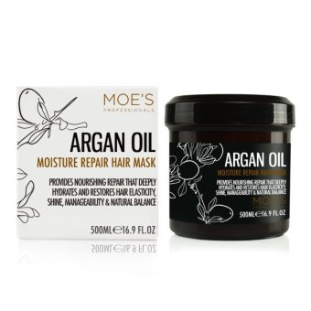 Argan Oil Moisture Repair Hair Mask by Moe's Professionals Price Philippines