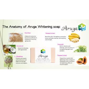 Aruga Organic Whitening Soap 100g - 2