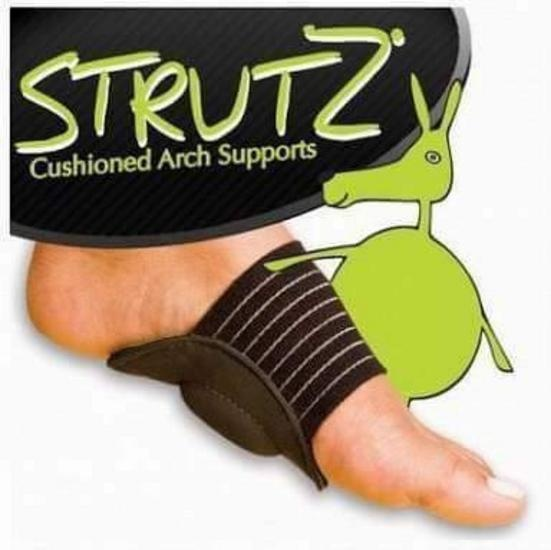 As Seen on TV Strutz Cushioned Arch Supports