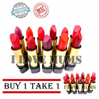 Ashley Shine Matte Lipstick 12 sticks (BUY 1 TAKE 1)
