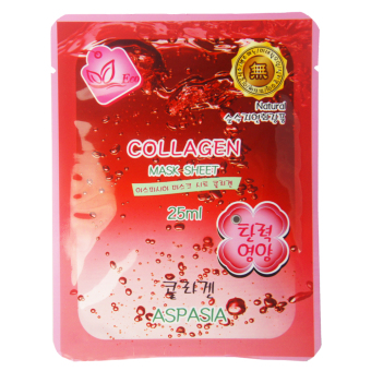 ASPASIA Collagen Mask Sheet Set of 5 25ml