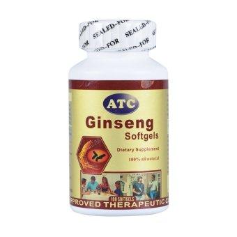 ATC Ginseng 800mg Soft Gels 100's