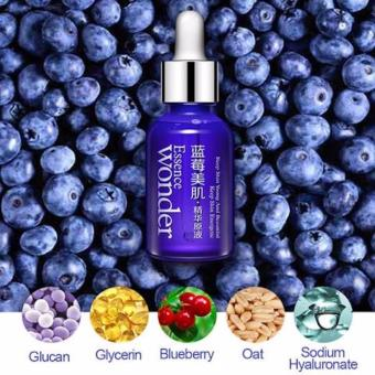 Authentic Bioaqua Blueberry Wonder Essence For Face Plant ExtractSerum 15ml Anti-aging, collagen, hyaluronic acid - 3