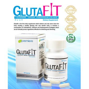 AUTHENTIC JC Premiere GlutaFit Whitening & Slimming 30 CapsulesDietary Supplement Price Philippines