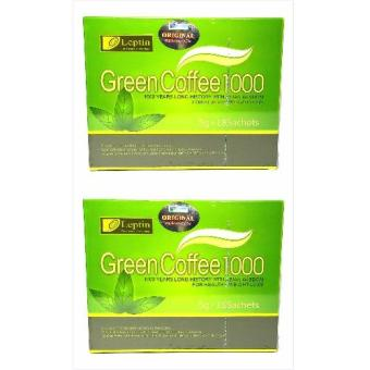 Authentic Leptin Green Coffee 1000 5g x 18 Sachets By 2s