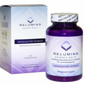 AUTHENTIC NEW Relumins Advance White 1650mg GlutathioneSkin-Whitening Anti-aging Complex 15x booster NAC, Alpha Lipoicacid, Rosehips, L-Methionine, Hesperidine,Green tea extractDermatologic Formula Price Philippines