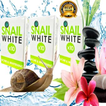 AUTHENTIC THAILAND's BEST SELLER! Snail White x10 Acne &Whitening Soap