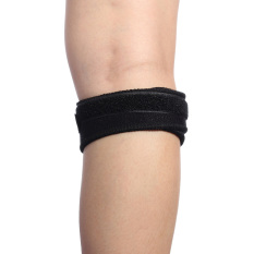 Adjustable Sports Gym Patella Tendon Knee Brace Support Wrap Strap Protector blackPHP366 PHP 366 Autoleader