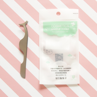 Auxiliary clip false eyelashes tweezers auxiliary device