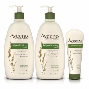 Aveeno Moisturizing Lotion US Authentic 532ml (Set of 3)