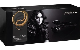 Babyliss Perfect Hair Curler Professional Hair Curler (Black) - picture 2