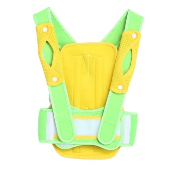 Back Posture Brace Corrector Shoulder Support Band Posture Correct Belt (Yellow) (M) - intl Price Philippines