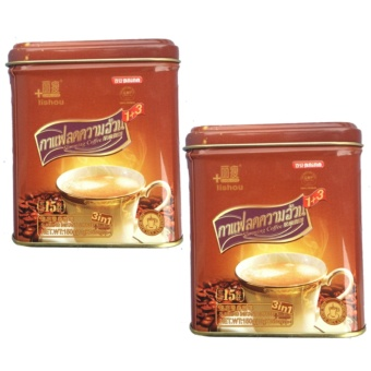 Baian Lishou Slimming Coffee Bundle of 2 cans (STRONG VARIANT) (15 sachets/can)