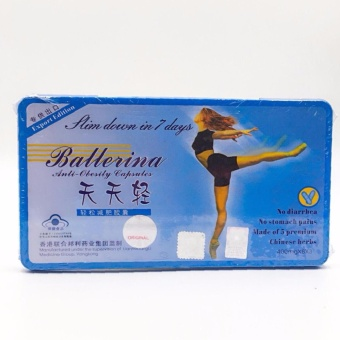 Ballerina 7 Days Slimming Capsule (20 Caps)