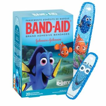 Band-Aid Brand Adhesive Bandages Featuring Disney Pixar's FindingDory, Assorted Sizes, 20 Count Price Philippines