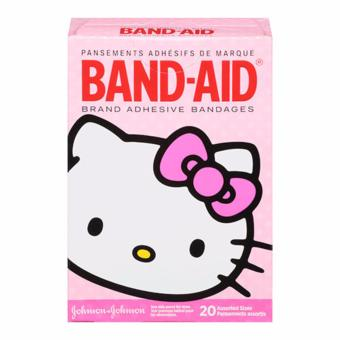 Band-Aid Brand Adhesive Bandages Featuring Hello Kitty, AssortedSizes, 20 Count Price Philippines
