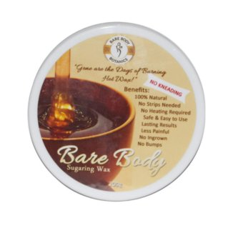 Bare Body Essentials Sugaring Wax Hair Removal (Honey) 200g withFREE Pilaten Black Head Remover Pore Strip