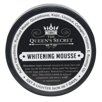 Bare Body Ph The Queen's Secret Whitening Mousse Price Philippines