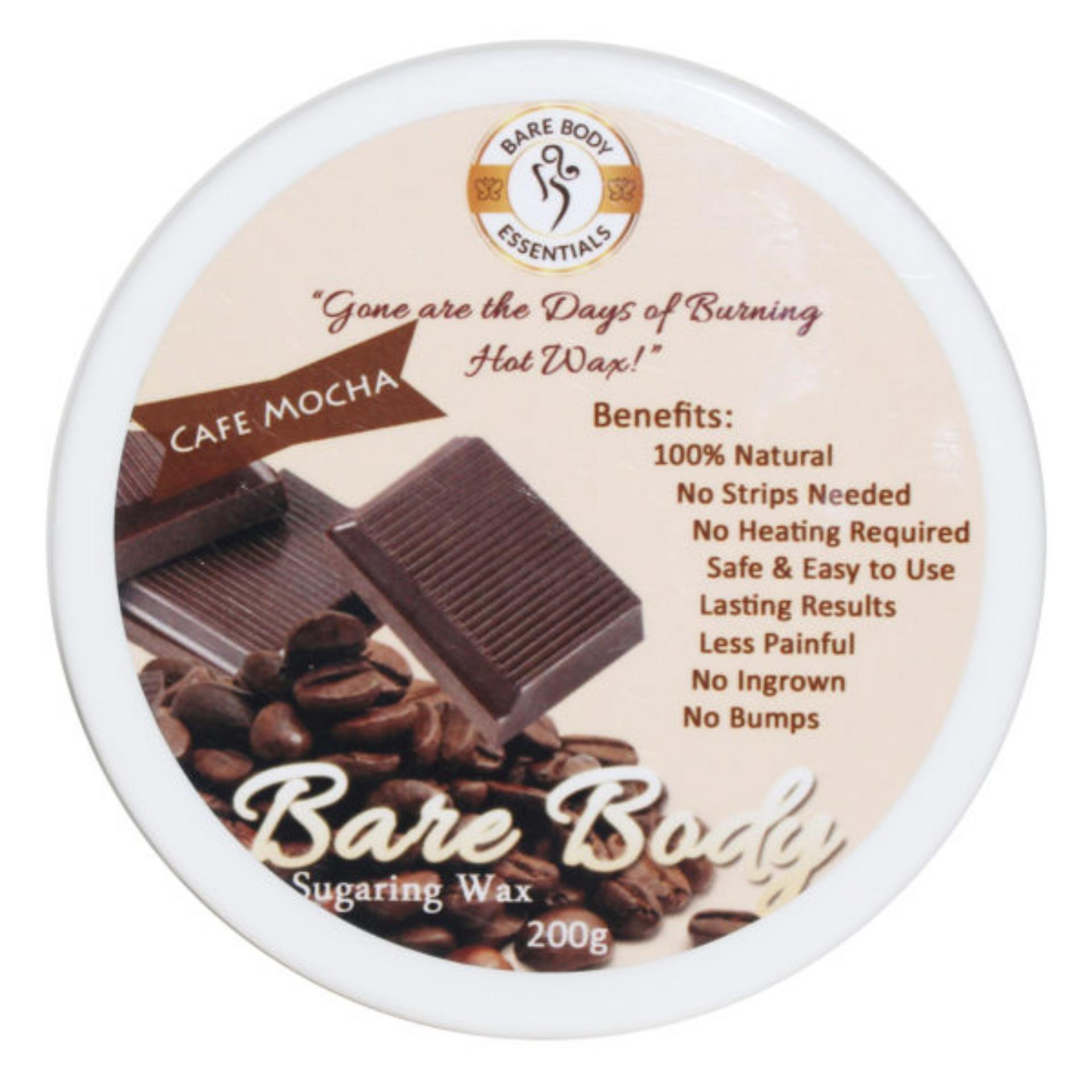 Barebody Sugar Wax CafeMocha 200g