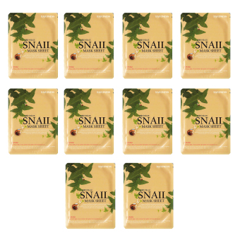 Baroness Snail Mask Sheet Set of 10
