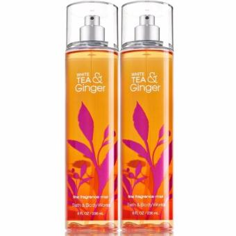 Bath and Body Works White Ginger Tea Fine Fragrance Mist 236 ml/ 8 fl oz Set of 2 - picture 2