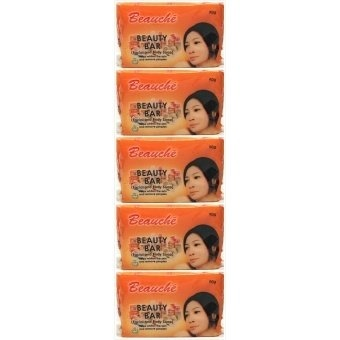 Beauche Beauty Bar Soap 90g Set of 5