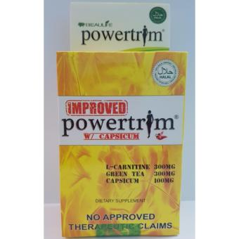 Beaulife Powertrim L-Carnitine and Green Tea Extract Capsule 600mgBox of 30
