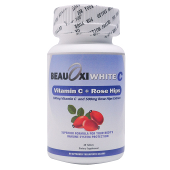 BeauOxi White C 500mg Rosehips and 500mg Vitamin C Bottle of 60 Price Philippines