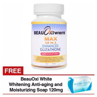 BeauOxi White Max 12in1 Enhanced Glutathione Tablets 950mg