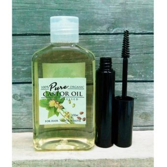 Beauty Secret Pure Castor Oil 100ml with FREE 10ml Mascara Tube