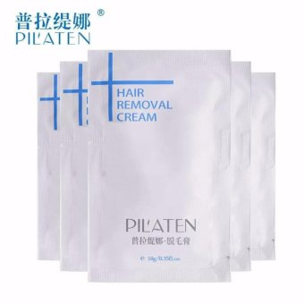 BeautyInhouse Pilaten Hair Removal 10g(1pc) with free Mini BrowClass Eyebrow Stencil Drawing Guide