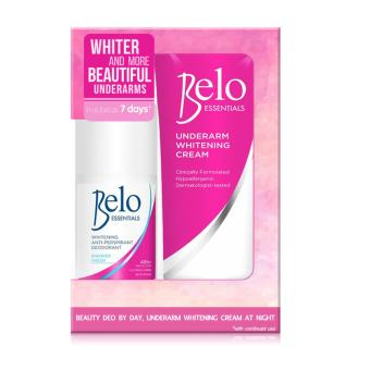 Belo Beauty Duo (Underarm Whitening Cream 40ml + Belo Essentials Shower Fresh Roll on 25ml)