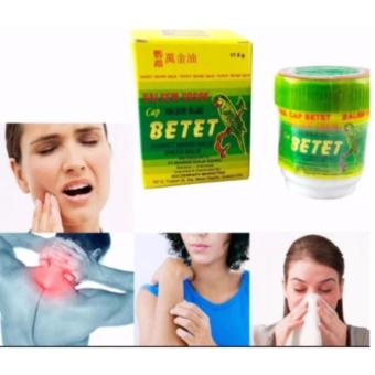 BETET Parrot Green Balm (Pain Reliever) 17.5 grams Price Philippines