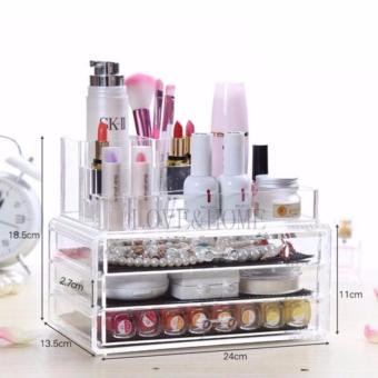 Better One Acrylic Cosmetic Organizer 4 Drawers Drawer MakeupStorage-Intl - 5
