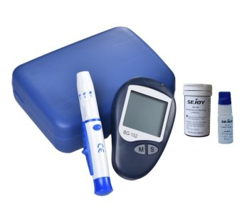 BG-102 Blood Glucose Monitoring System (Blue) Price Philippines